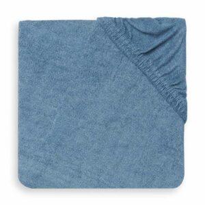 Jollein aankleedkussenhoes badstof blauw