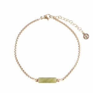 Zusss armband chloriet goud