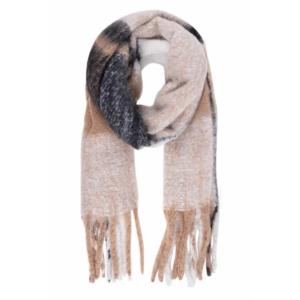 Zusss sjaal geruit taupe