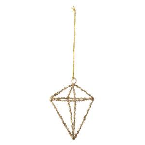 Bloomingville ornament met pailletten
