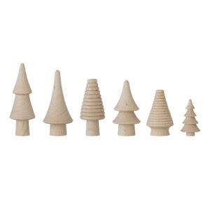 Bloomingville houten kerstboompjes