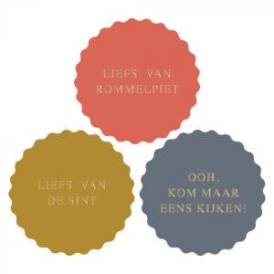 Sint stickers liefs van