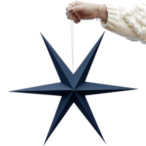 Delight Department kerst ster blauw