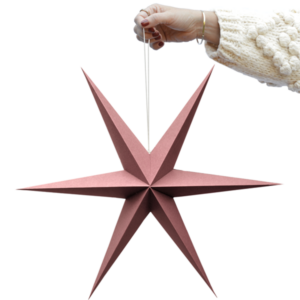 Delight Department kerst ster roze