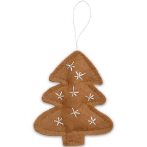 Delight Department kerstboom hanger caramel