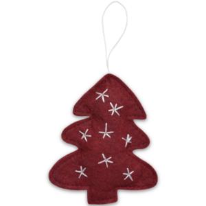 Delight Department kerstboom hanger rood