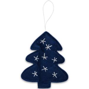 Delight Department kerstboom hanger blauw